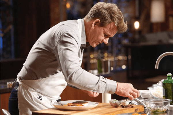 Gordon Ramsay Cooking