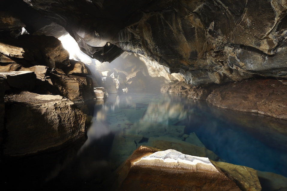 Grjotagja Cave, Iceland