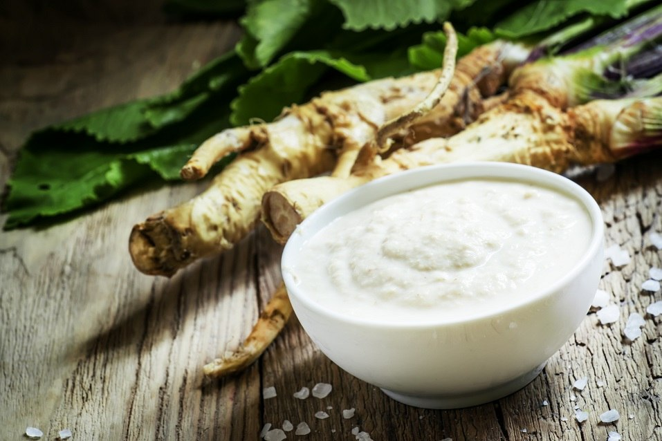 Ground horseradish