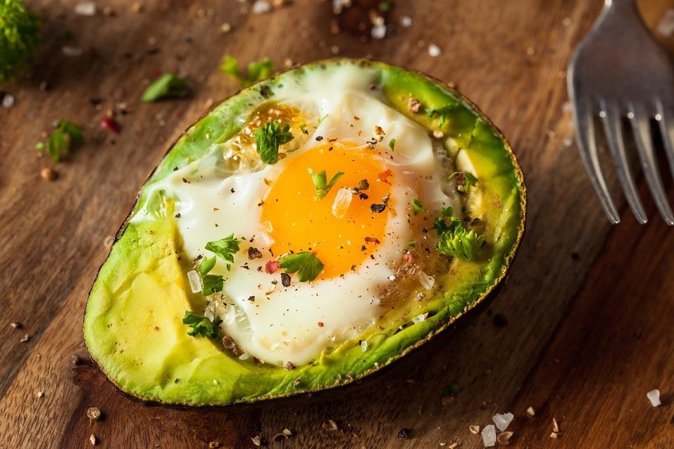 Egg in avocado