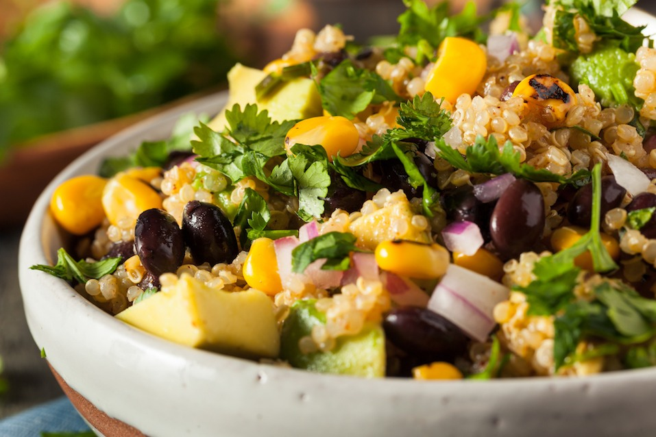 Southwestern Mexican Quinoa Salad