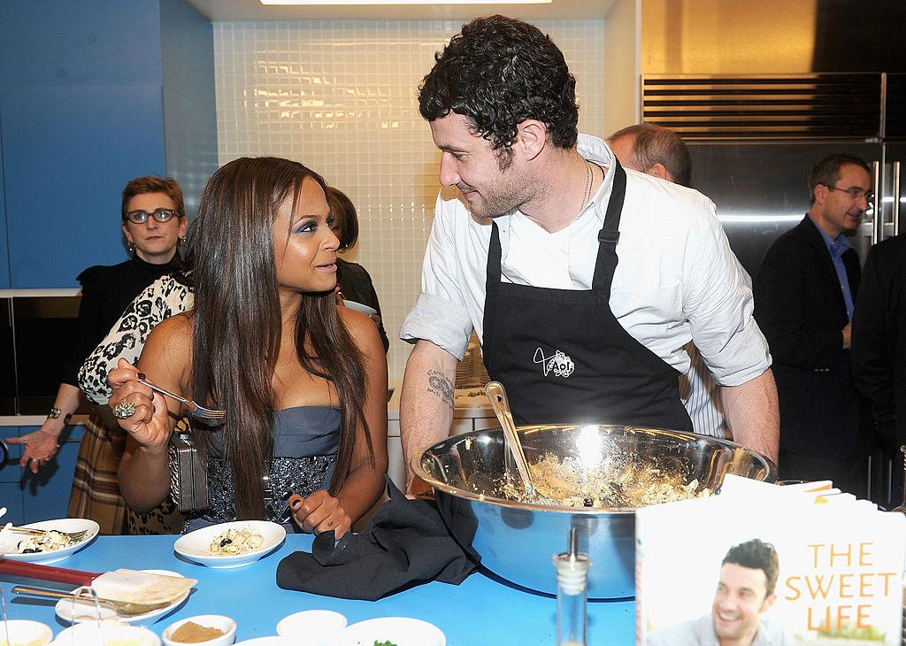 Christina Milian and chef Sam Talbot