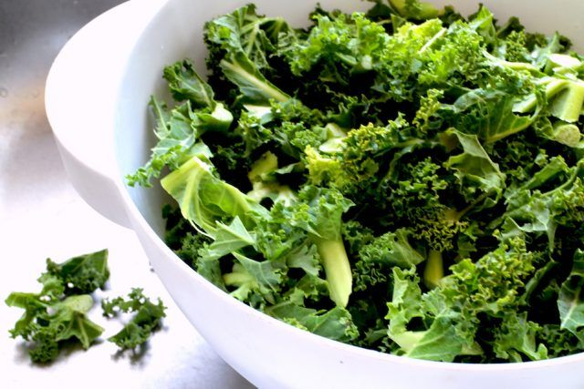 Kale can be an excellent way to introduce more healthy carbs into your diet.