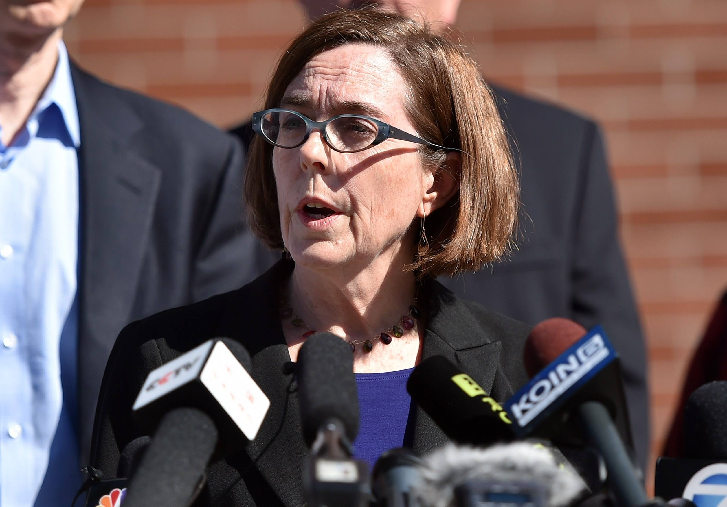 Oregon Governor Kate Brown
