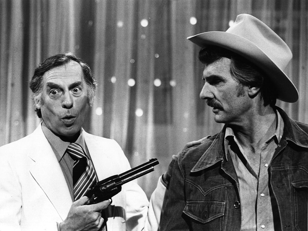 Larry Grayson and Dennis Weaver