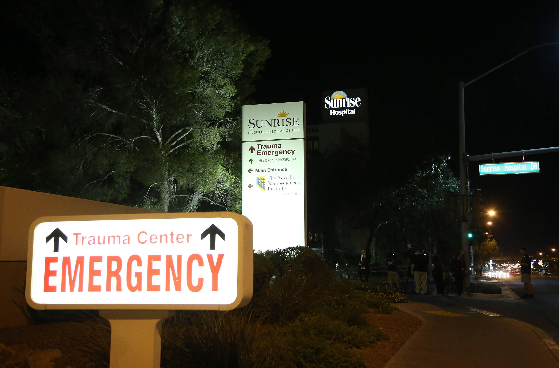 A Las Vegas hospital