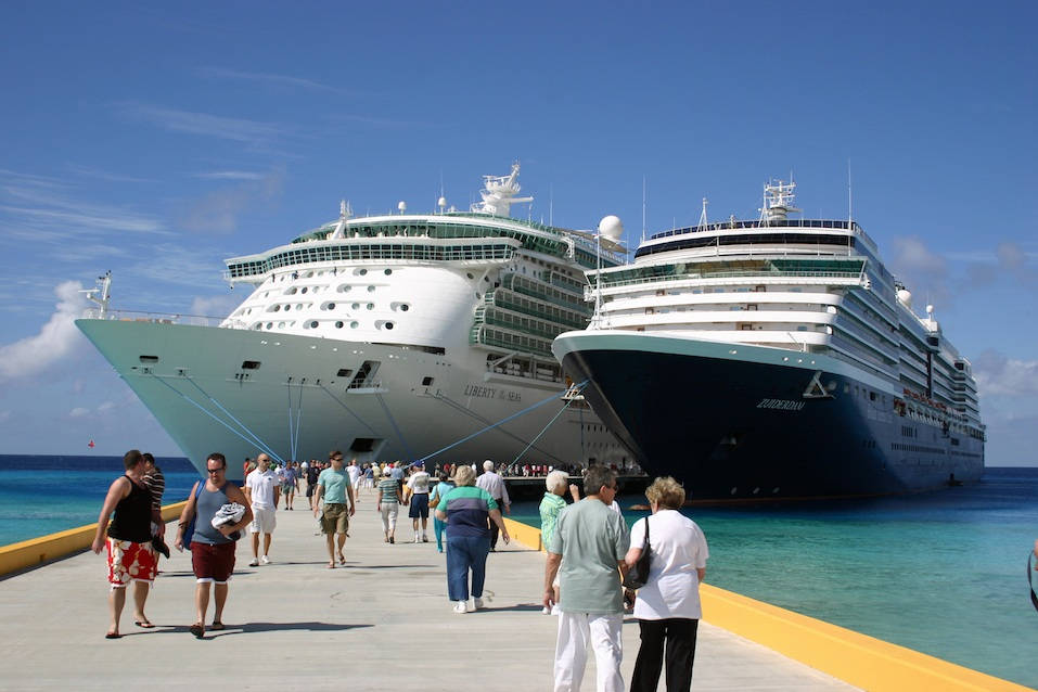 Liberty of the Seas and Zuiderdam