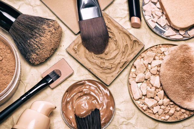 Makeup products to even skin tone