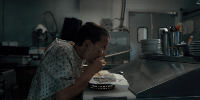 On 'Stranger Things,' Eleven eats french fries at Benny's Burgers