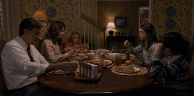 On 'Stranger Things,' the Wheeler family eats a dinner of mixed veggies, chicken, tater tots, and dinner rolls
