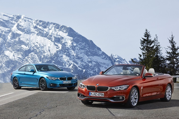 BMW 4-Series coupe and coupe convertible