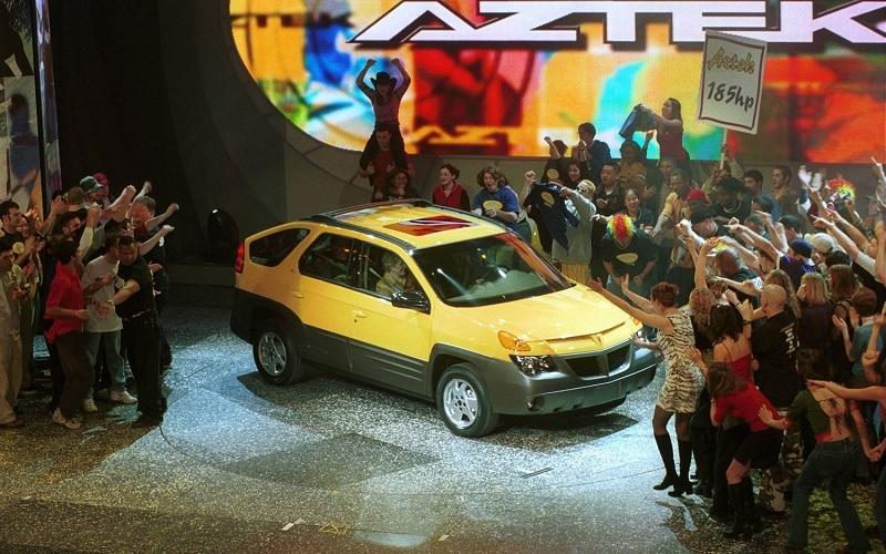 Pontiac Aztek debut