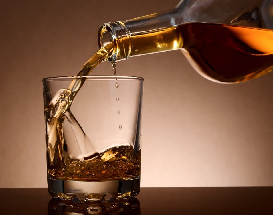 malt whisky in a glass