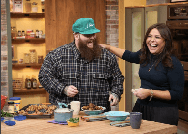 Rachael Ray on her show