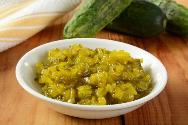 Homemade relish is much healthier than processed versions.