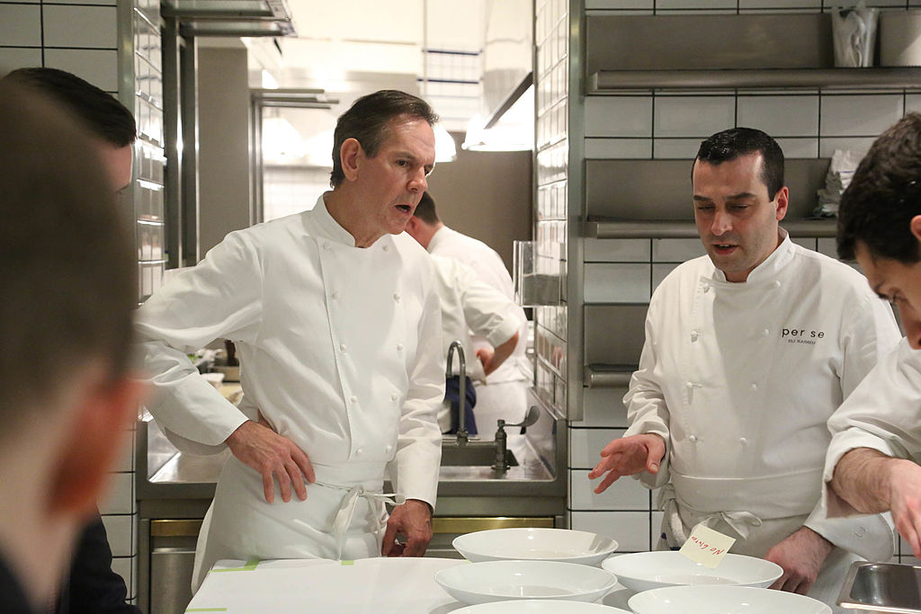 Chef Thomas Keller gives a tour of the kitchen