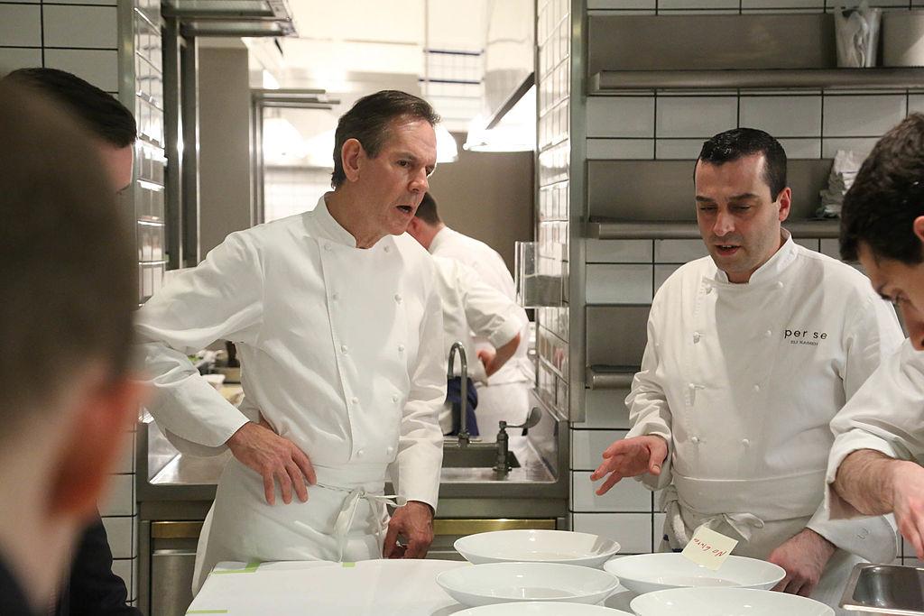Chef Thomas Keller gives a tour of the kitchen