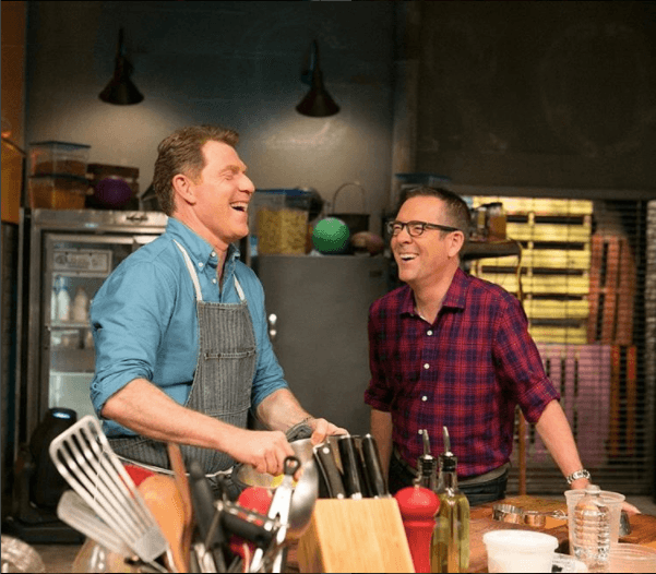 Ted Allen and Bobby Flay