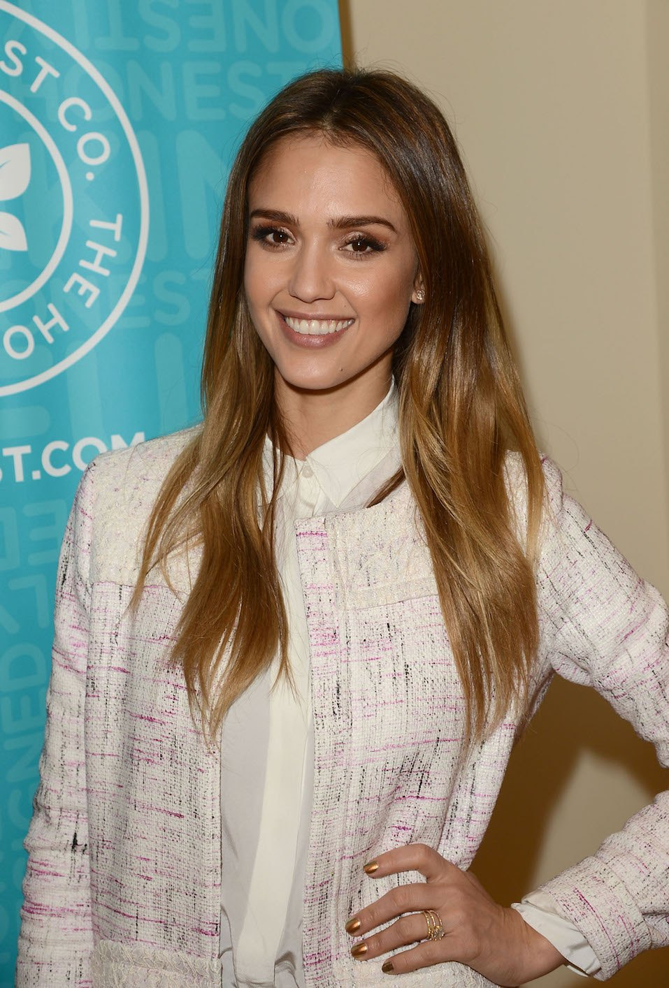 Jessica Alba attends The Honest Company