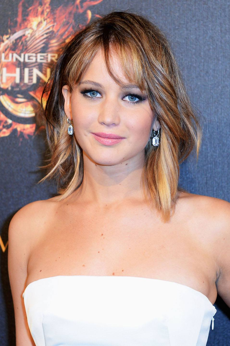 Actress Jennifer Lawrence attends 'The Hunger Games: Catching Fire' Party during The 66th Annual Cannes Film Festival