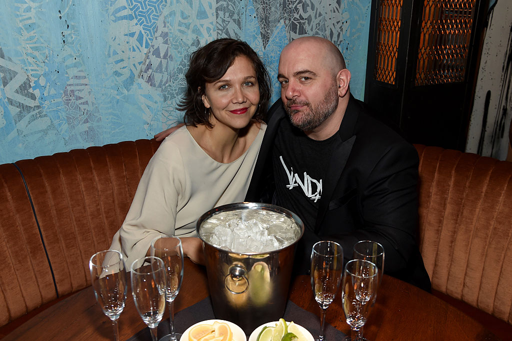 Actress Maggie Gyllenhaal and chef Chris Santos