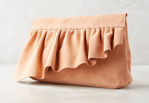 Marie Turnor Ruffle Clutch
