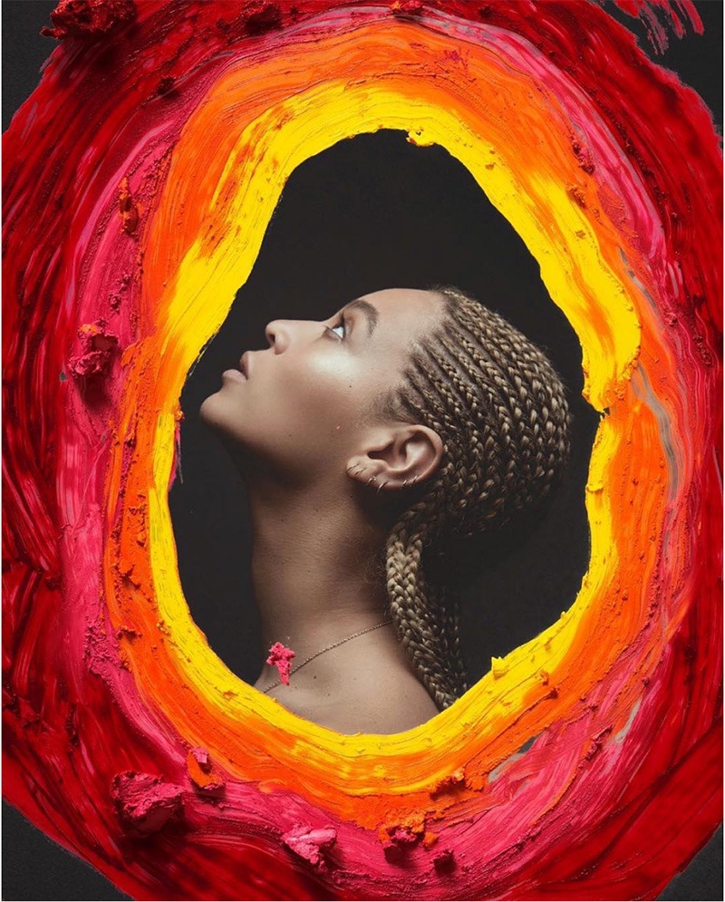 Beyoncé can even paint