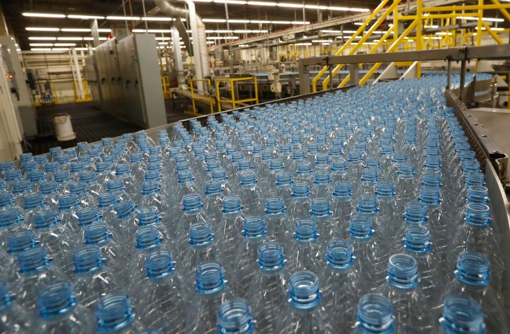 bottled water factory