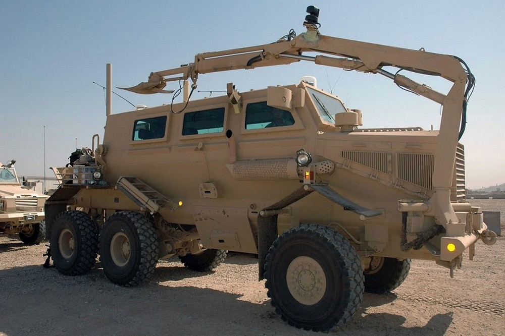Buffalo Mine Protected Route Clearance Vehicle
