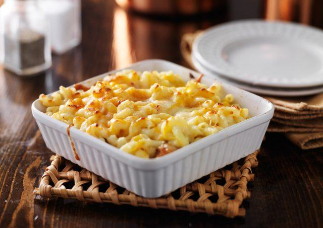 There are healthier macaroni and cheese dishes out there.