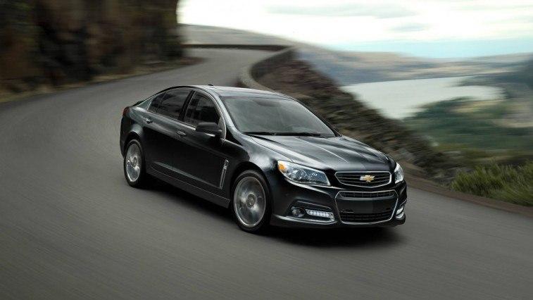 Black Chevrolet SS
