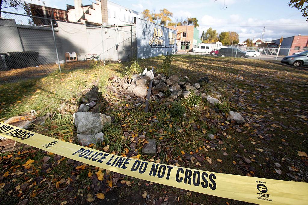 Detroit crime scene
