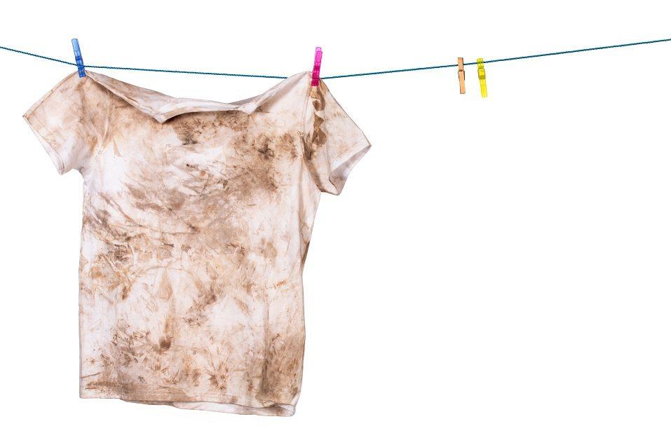 dirty shirt hanging