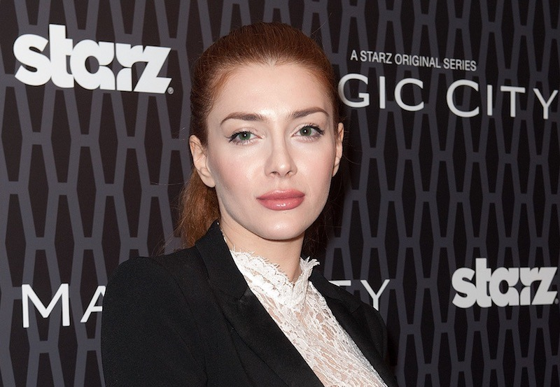Actress Elena Satine attends the 'Magic City' screening at the Academy Theater