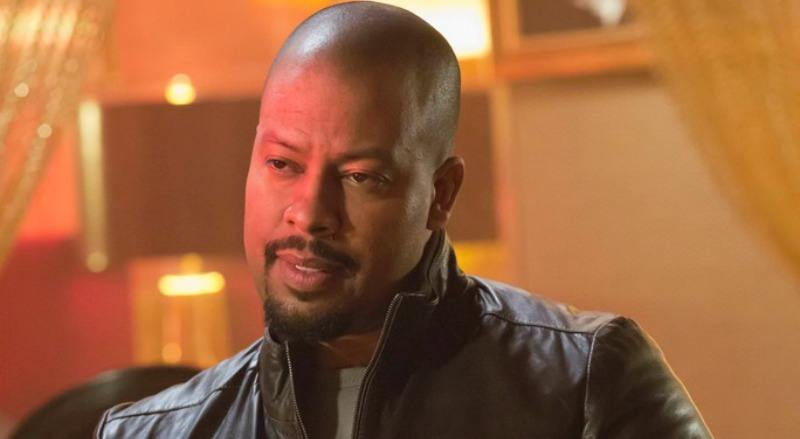 Morocco Omari is wearing a leather jacket on Empire.