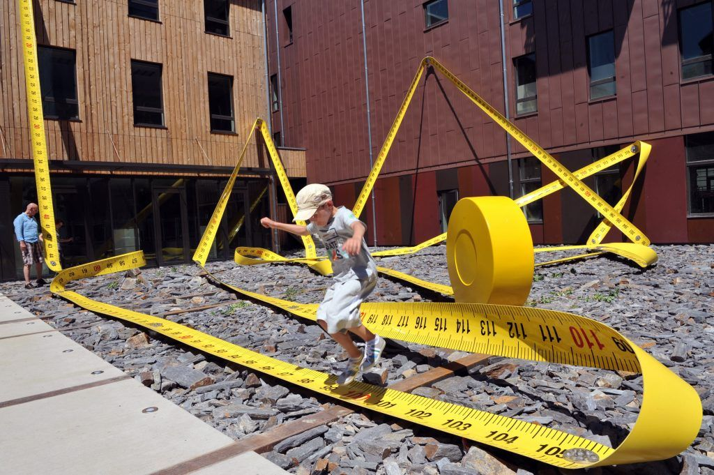 giant tape measure
