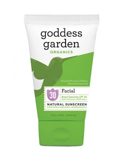 Facial Natural Sunscreen