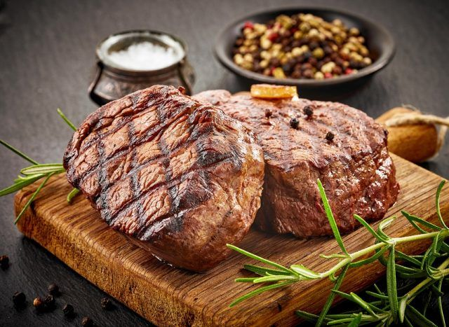 You really can't go wrong with grilled meat.