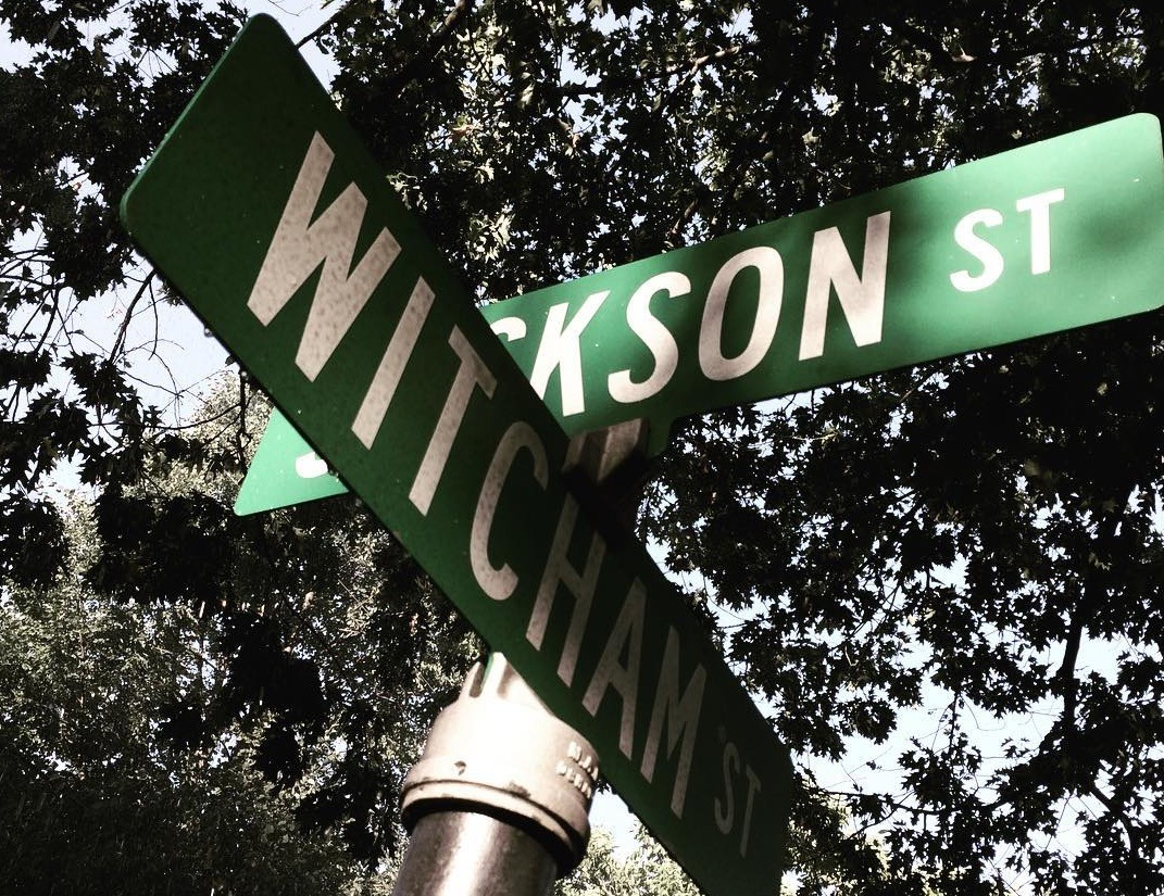 Street sign from the It remake