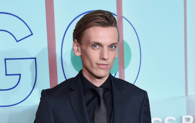 Jamie Campbell Bower attends the celebration of the 20th Anniversary of the HUGO BOSS Prize at Solomon R. Guggenheim Museum