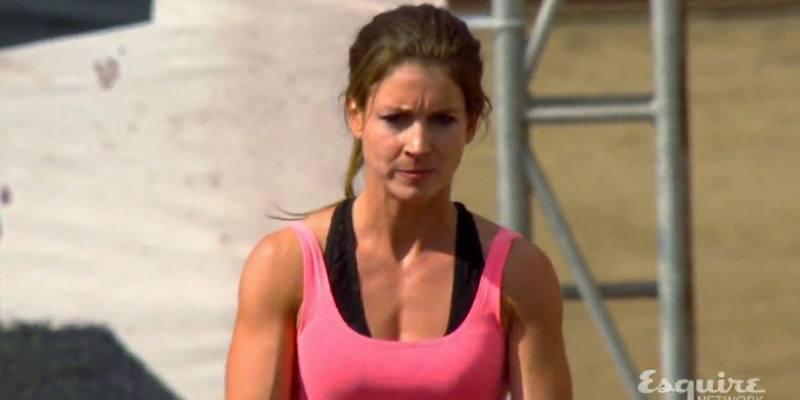 Jennifer Tavernier is getting ready to start on Team Ninja Warrior.