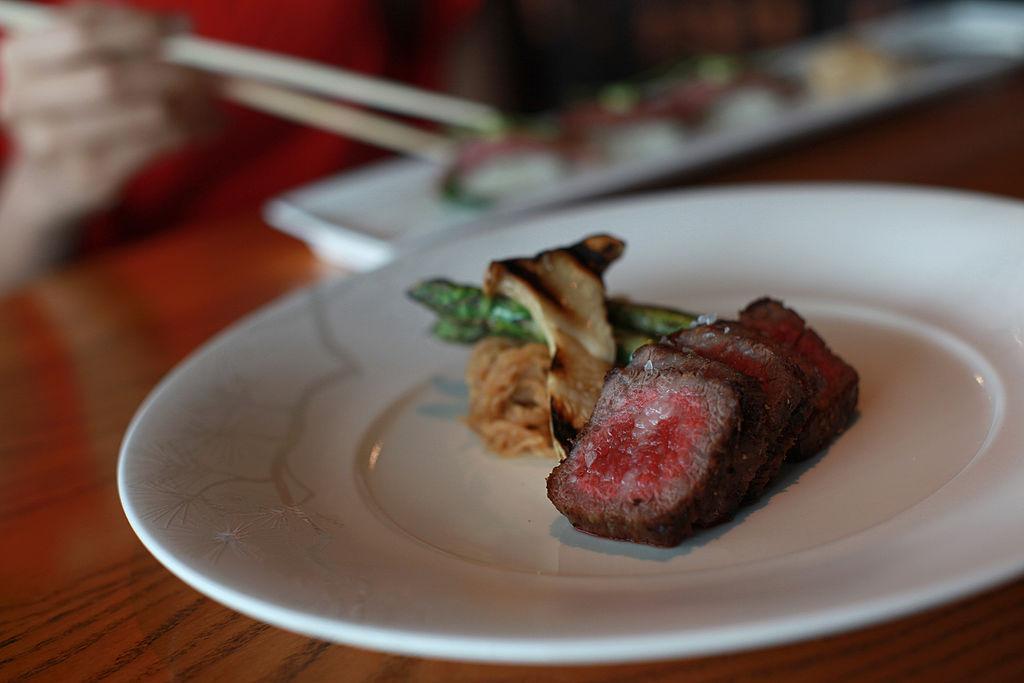 A Kobe beef dish