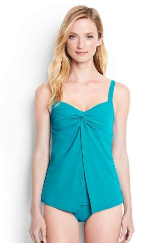 Shaping Underwire V-Neck Tankini Top