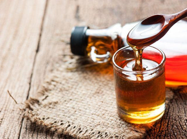 Maple syrup is almost 100 percent sugar.