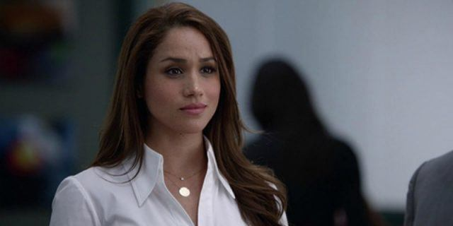 Meghan Markle as Rachel Zane on 'Suits'.