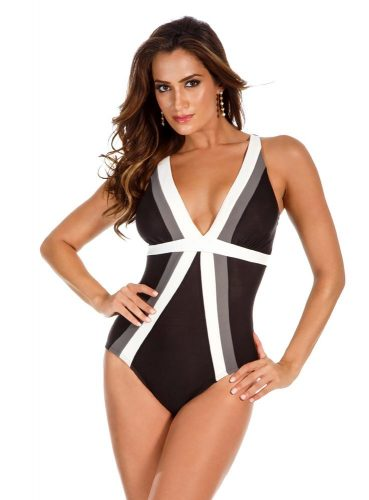 Colorblock Trilogy Soft Cup One Piece Swimsuit