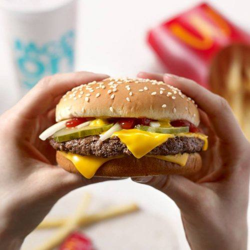 Quarter Pounder with Cheese