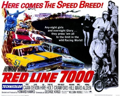Promotional movie poster for Red Line 7000