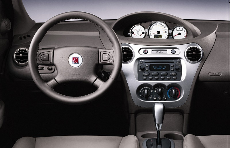 The interior of a 2003-2007 Saturn Ion