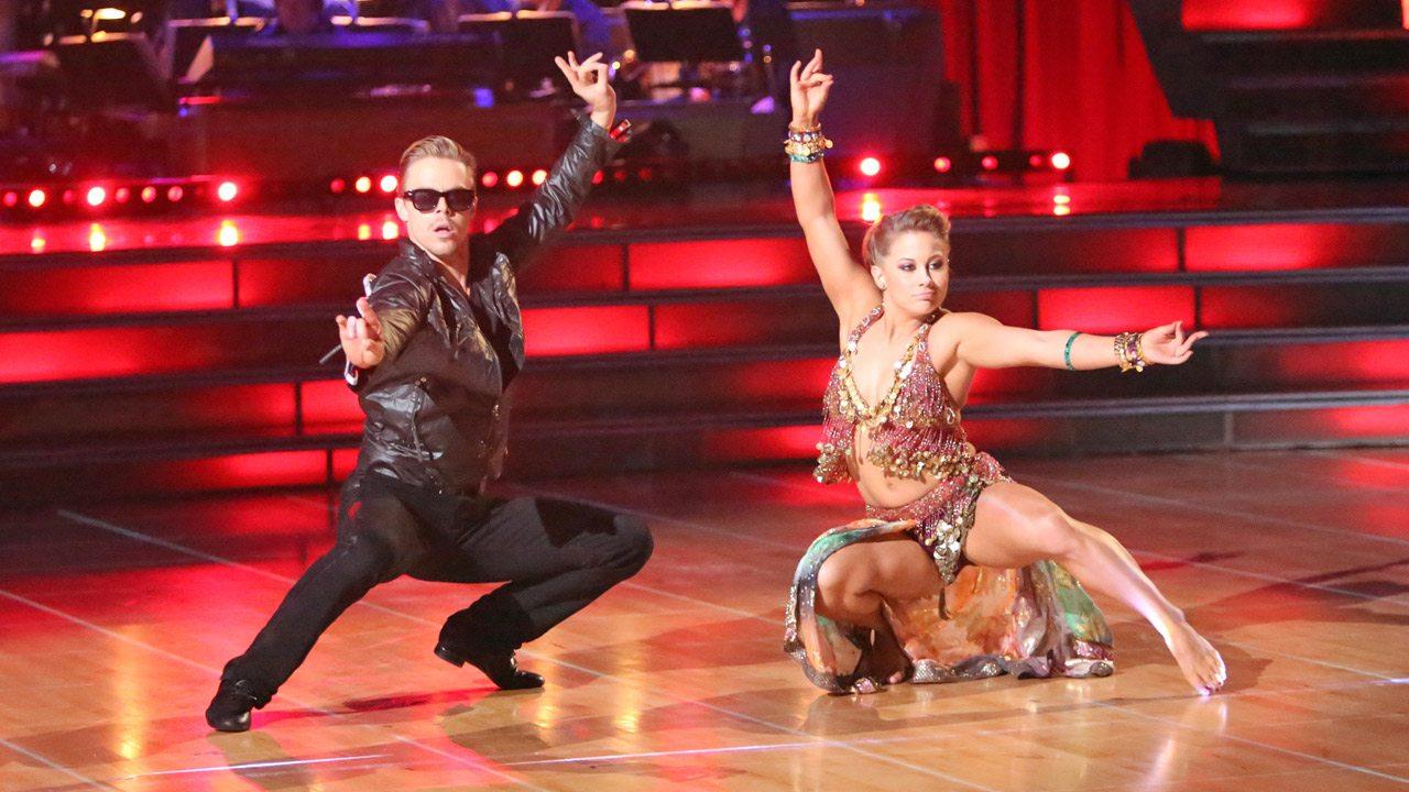 Celebrity dirty dancing